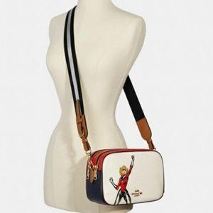 (New) Coach Marvel Carol Danvers Crossbody Bag